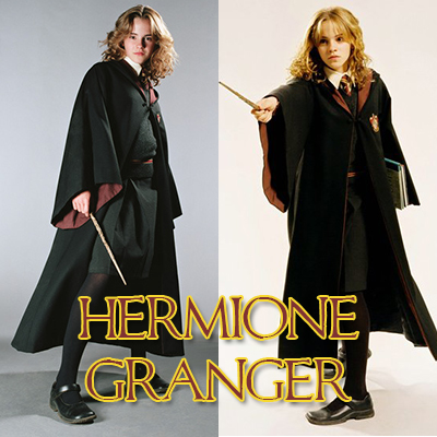 Robe rose hermione